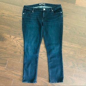 Express Jeans lowrise legging jeans